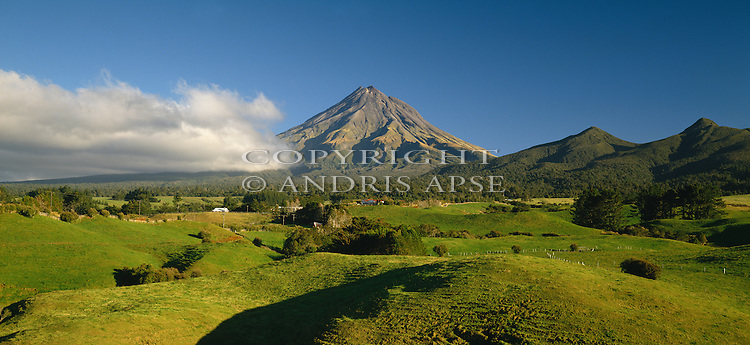 Mount Taranaki. Taranaki Region. New Zealand.