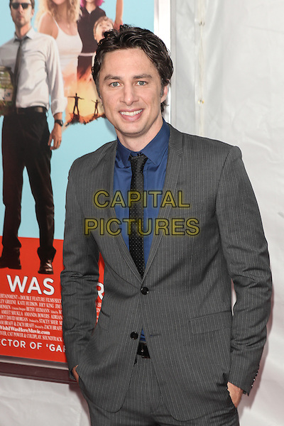 NEW YORK, NY - JULY 14: Zach Braff  attends the 'Wish I Was Here' screening at AMC Lincoln Square Theater on July 14, 2014 in New York City.  <br /> CAP/MPI/COR<br /> &copy;COR/MPI/Capital Pictures