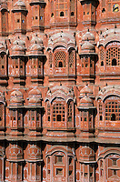 India, Rajasthan, Jaipur, Hawa Mahal (Palace of the Winds)