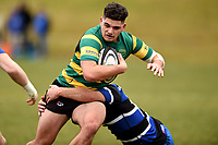Rawiri Wereta in action during the Otago premier club rugby union match between Kaikorai and Green Island at Bishopscourt Park in Dunedin, New Zealand on Saturday, 4 July 2020. Photo: Joe Allison / lintottphoto.co.nz