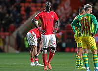 Mouhamadou-Naby Sarr of Charlton Athletic reacts to the final whistle during Charlton Athletic vs West Bromwich Albion, Sky Bet EFL Championship Football at The Valley on 11th January 2020