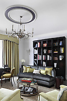 A modernised Claridges hotel suite designed by Oliver Laws