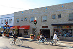 Bicyclists on Balboa Peninsula