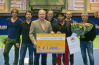 22-12-13,Netherlands, Rotterdam,  Topsportcentrum, Tennis Masters, , , <br /> Photo: Henk Koster