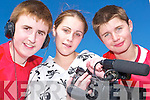 Action: Andrew Nihill, Breda O'Sullivan and Raymond Wilmott taking part in the Listowel Community College film making day in Listowel, where the class filmed their own movie..   Copyright Kerry's Eye 2008