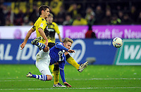 FUSSBALL   1. BUNDESLIGA   SAISON 2011/2012    14. SPIELTAG Borussia Dortmund - FC Schalke 04      26.11.2011 Sebastian KEHL (li, Dortmund) gegen Lewis HOLTBY (re, Schalke)