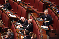 Roma, 16 Marzo 2013.Montecitorio, Camera dei Deputati.Secondo giorno in Aula della XVII Legislatura del Parlamento italiano.Elezione del Presidente.Rosy Bindi