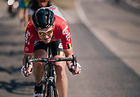 Lars Bak (DEN/Lotto-Soudal)<br /> <br /> 98th Brussels Cycling Classic 2018<br /> One Day Race:  Brussels > Brussels (201km)