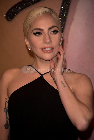 Lady Gaga (Stefani Joanne Angelina Germanotta)<br /> The Fashion Awards 2016 , arrivals at the Royal Albert Hall, London, England on December 05 2016.<br /> CAP/PL<br /> ©Phil Loftus/Capital Pictures /MediaPunch ***NORTH AND SOUTH AMERICAS ONLY***