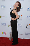 MARILU HENNER. Red Carpet arrivals to The Art of Compassion PCRM 25th Anniversary Gala at The Lot in West Hollywood. West Hollywood, CA, USA. April 10, 2010.