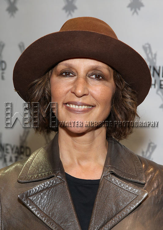 """Lisa Ramirez attends the Cast photo call for the Vineyard Theatre production of """"Good Gfief"""" on September 12, 2018 at the Vineyard Theatre in New York City."""