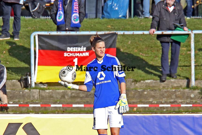 Desiree Schumann (FFC) ist die Nummer 1 - 1. FFC Frankfurt vs. TSG 1899 Hoffenheim