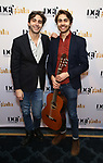 Patrick Lazour and Daniel Lazour attends the cocktail party for the Dramatists Guild Foundation 2018 dgf: gala at the Manhattan Center Ballroom on November 12, 2018 in New York City.
