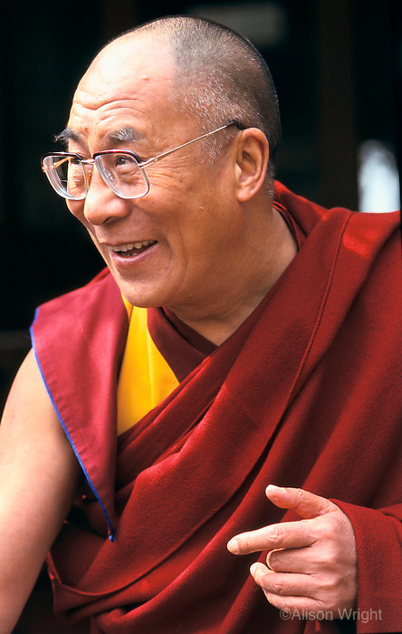 The Dalai Lama, Dharamsala, India