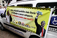 02.04.2018 - Taxistas agradecem o prefeito Doria em SP