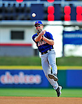 4 March 2009: New York Mets' second baseman Andy Green takes infield practice prior to a Spring Training game against the Washington Nationals at Space Coast Stadium in Viera, Florida. The Nationals rallied to defeat the Mets 6-4 . Mandatory Photo Credit: Ed Wolfstein Photo