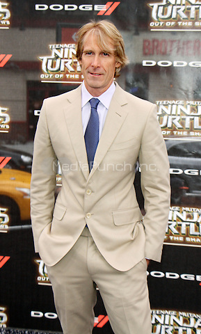 NEW YORK, NY-May 22: Michael Bay at Paramount Pictures, Nickelodeon Movies and Dodge present the WORLD premiere of TEENAGE MUTANT NINJA TURTLES: OUT OF THE SHADOWS! at Madison Square Garden New York. NY May 22, 2016. Credit:RW/MediaPunch