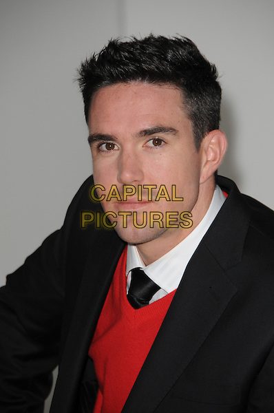 KEVIN PIETERSEN.Kevin Pietersen is unveiled as the next Brylcreem Model, London, England..September 29th, 2009.cricket headshot portrait black red white .CAP/CAS.©Bob Cass/Capital Pictures.