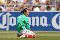 Mexico's Lopez during the USA vs Mexico's Group A 2008 CONCACAF Olympic Women's Qualifying Tournament  in Ciudad Juarez, Mexico, April 6, 2008.