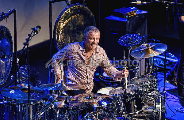 08 June 2016 - Hamilton, Ontario, Canada.  Emerson, Lake and Palmer drummer Carl Palmer performs on stage during his Remembering Keith & The Music of ELP Tour held at the Molson Canadian Studio at Hamilton Place.  Photo Credit: Brent Perniac/AdMedia