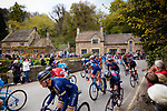 Picture by Shaun Flannery/SWpix.com - 29/04/2017 - Cycling - 2017 Tour de Yorkshire - Stage 2 - Tadcaster to Harrogate<br /> <br /> Fountains Abbey