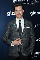 www.acepixs.com<br /> May 6, 2017  New York City<br /> <br /> Andrew Rannells attending arrivals at GLAAD Media Awards on May 6, 2017 in New York City.<br /> <br /> Credit: Kristin Callahan/ACE Pictures<br /> <br /> <br /> Tel: 646 769 0430<br /> Email: info@acepixs.com