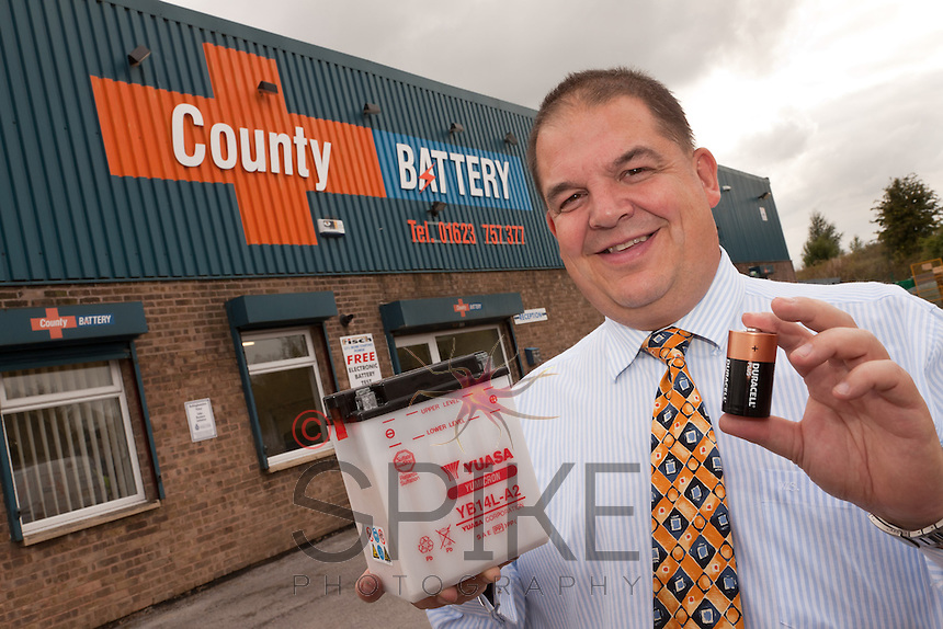 Richard Fuller, Managing Director of County Battery
