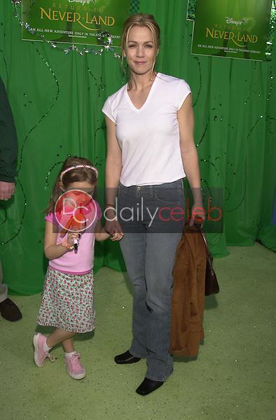 Jennie Garth and daughter Luca