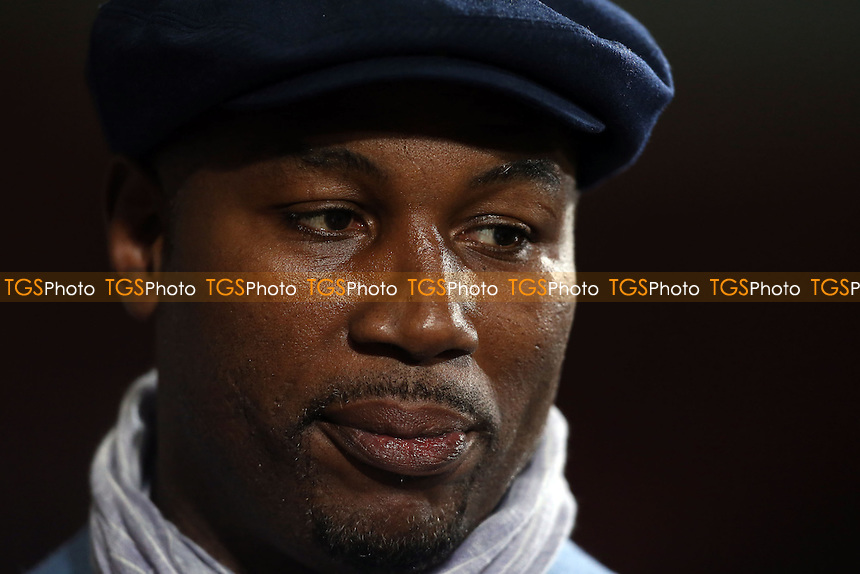 Former Heavyweight Boxing Champion of the World Lennox Lewis - West Ham United vs Norwich City, Barclays Premier League at Upton Park, West Ham - 11/02/14 - MANDATORY CREDIT: Rob Newell/TGSPHOTO - Self billing applies where appropriate - 0845 094 6026 - contact@tgsphoto.co.uk - NO UNPAID USE
