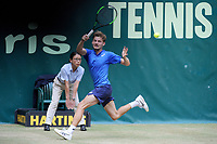 20060621 - HALLE , GERMANY : David Goffin pictured during The 27th ATP Tennis Tournament - NOVENTI Open in Halle , an ATP Tennis Tournament on grass , Friday 21 st June 2019 , PHOTO SPORTPIX | STIJN AUDOOREN