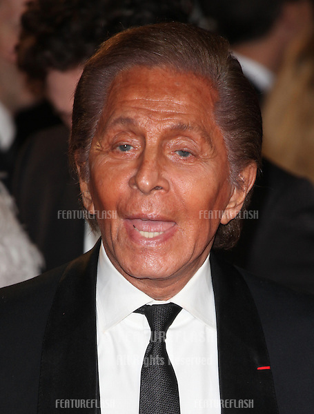 Valentino Garavani arriving for the Royal World Premiere of 'Skyfall' at Royal Albert Hall, London. 23/10/2012 Picture by: Alexandra Glen / Featureflash