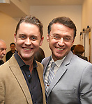 Michael McCorry Rose and Andrew Lippa during The DGF's 14th Biannual Madge Evans & Sidney Kingsley Awards at the Dramatists Guild Fund headquarters on April 4, 2016 in New York City.