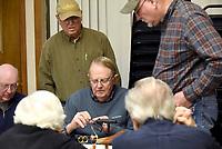 NWA Democrat-Gazette/FLIP PUTTHOFF<br /> Ray Atkinson (center) teaches an advanced class.