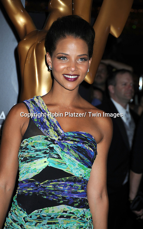 Denise Vasi arriving at The 37th Annual Daytime Emmy Awards on June 27, 2010 at The Hilton in Las Vegas, Nevada.