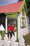 10 jarig jubileum Caneye. Nederlandse antillen/ Aedes. sociale woningbouw. hoofdstuk St Eustatius / Statia. foto's: Michael Kooren..