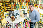 Paul Hanrahan from the Action Lesotho book shop Tralee is collecting books relating to Tralee for a special collection