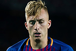 Gerard Deulofeu Lazaro of FC Barcelona reacts during the La Liga match between FC Barcelona vs RCD Espanyol at the Camp Nou on 09 September 2017 in Barcelona, Spain. Photo by Vicens Gimenez / Power Sport Images