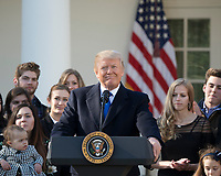 JAN 19 Trump addresses the Right to Life Marchers