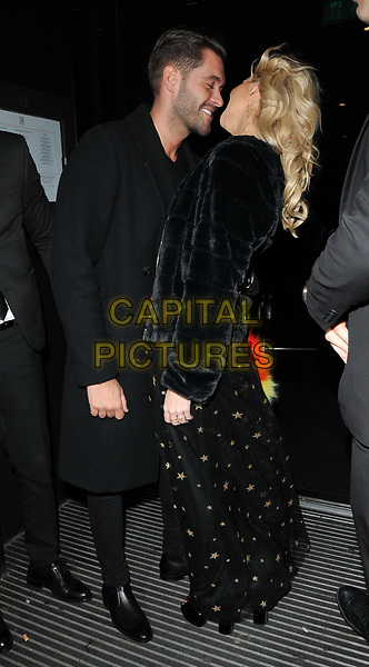 Jonny Mitchell and Stephanie Pratt at the LOTD x Louise Thompson womenswear collection launch party, STK London, ME London Hotel, The Strand, London, England, UK, on Tuesday 21 November 2017.<br /> CAP/CAN<br /> &copy;CAN/Capital Pictures