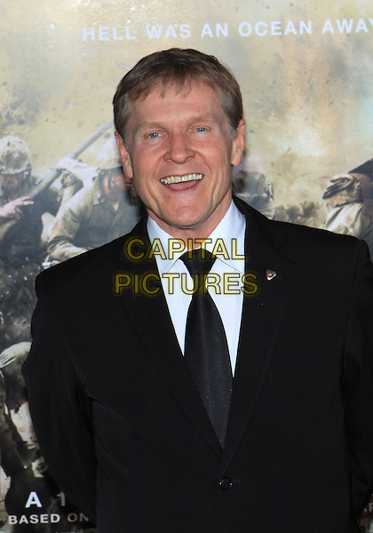 "WILLIAM SADLER .Attending the Los Angeles Premiere of HBO's ""The Pacific"" held at Grauman's Chinese Theater, Hollywood, California, USA, 24th February 2010 .portrait headshot smiling black tie jacket suit mouth open .CAP/ADM/TC.©T. Conrad/AdMedia/Capital Pictures."