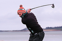 Robert Brazill (Naas) during the QF matchplay at the 2018 West of Ireland, in Co Sligo Golf Club, Rosses Point, Sligo, Co Sligo, Ireland. 02/04/2018.<br /> Picture: Golffile | Fran Caffrey<br /> <br /> <br /> All photo usage must carry mandatory copyright credit (&copy; Golffile | Fran Caffrey)