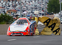 Jul 23, 2017; Morrison, CO, USA; NHRA funny car driver Robert Hight during the Mile High Nationals at Bandimere Speedway. Mandatory Credit: Mark J. Rebilas-USA TODAY Sports