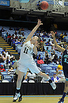 Bishop McGuinness' Sammi Goldsmith (11) shoots during the Villains' 60-44 win over Southside High School, a 7th-consecutive state title and a new state record, at the Dean Smith Center in Chapel Hill, NC, on Saturday, March 10, 2012.  Photo by Ted Richardson