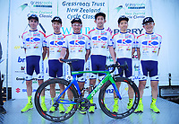 Kinan Cycling Team. 2019 Grassroots Trust NZ Cycle Classic UCI 2.2 Tour at St Peter's School in Cambridge, New Zealand on Tuesday, 22 January 2019. Photo: Dave Lintott / lintottphoto.co.nz