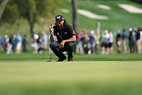 Pat Perez (USA) on the 16th green during the 2nd round at the PGA Championship 2019, Beth Page Black, New York, USA. 17/05/2019.<br /> Picture Fran Caffrey / Golffile.ie<br /> <br /> All photo usage must carry mandatory copyright credit (&copy; Golffile | Fran Caffrey)