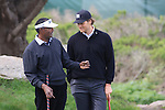 Vijay Singh and Tom Brady at Monterey Peninsula Country Club