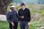 Vijay Singh and Tom Brady at Monterey Peninsula Country Club