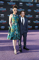 19 April 2017 - Hollywood, California - Clare Grant, Seth Green. Premiere Of Disney And Marvel's &quot;Guardians Of The Galaxy Vol. 2&quot; held at Dolby Theatre. <br /> CAP/ADM/PMA<br /> &copy;PMA/ADM/Capital Pictures