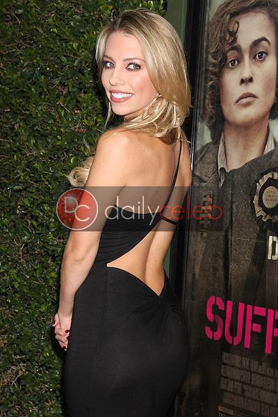 "Lindsay McCormick<br /> at the ""Suffragette"" Premiere, Samuel Goldwyn Theater, Beverly Hills, CA 10-20-15<br /> David Edwards/DailyCeleb.Com 818-249-4998"