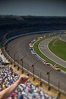25-27 July 2008, Indianapolis, Indiana USA.Race action, turn one..©F.Peirce Williams 2008, USA.F. Peirce Williams.photography